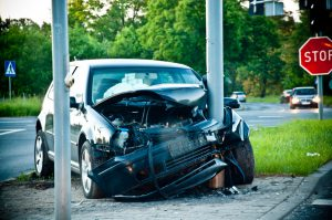 PaulaCar - Samochód marka wypadek na autostradzie